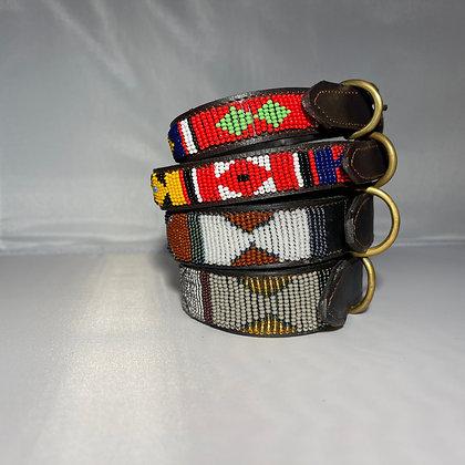 X Small Maasai Beaded Dog Collar 30cm