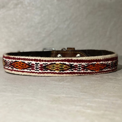 X Large Camel Dog Collar 50cm