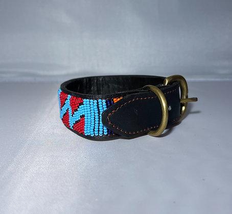 XX Small Maasai Beaded Dog Collar 25cm