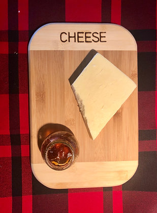 Medium Chopping Board - Cheese | Vegetables