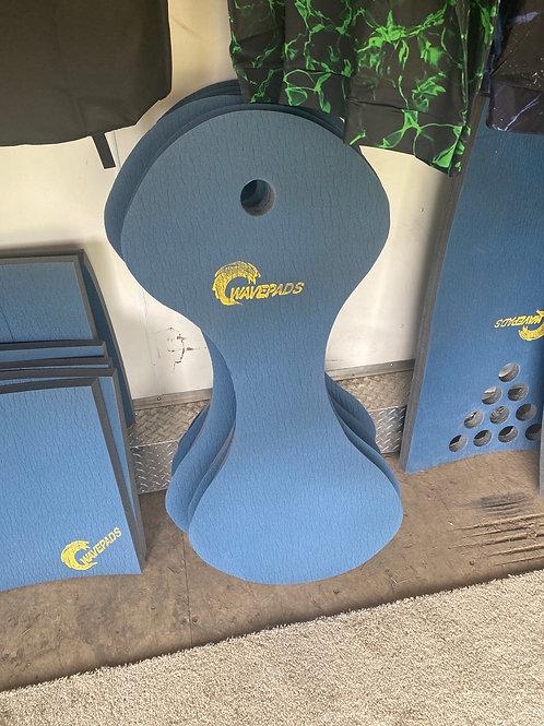Wave pad saddle