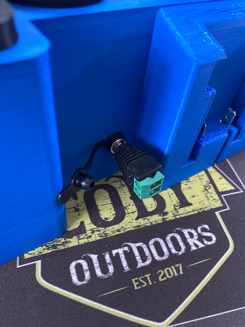 Male DC Power Jack Adapter Plug 5.5mm x 2.1mm