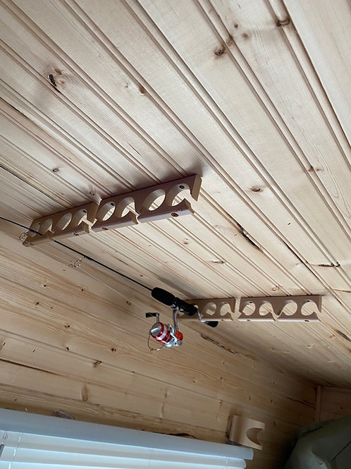 Wall/Ceiling Rod Holder Set