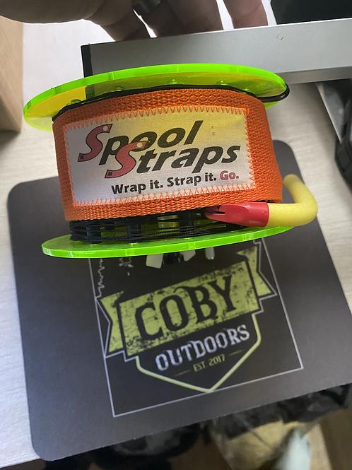 Rattle Reel Spool Straps