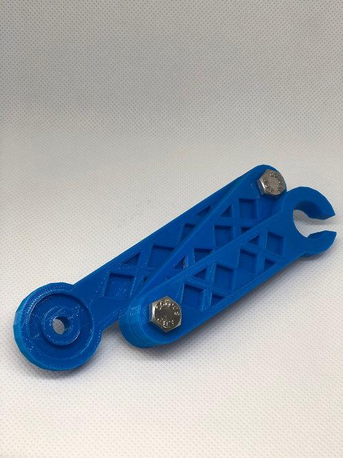 Transducer Arm W/Vexilar-Garmin Ball Stop End