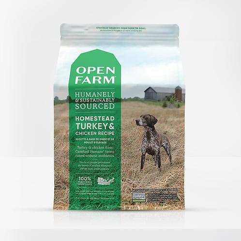 Open Farm Homestead Turkey & Chicken Recipe Dog Food