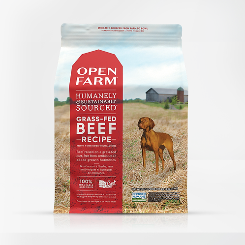 Open Farm Grass-Fed Beef Recipe Dog Food