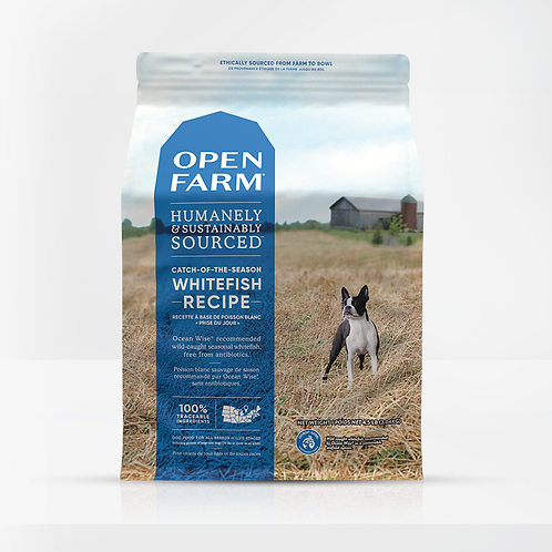 Open Farm Whitefish Recipe Dog Food