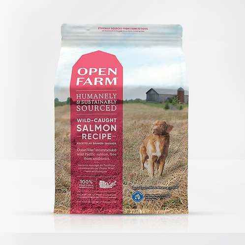 Open Farm Wild-Caught Salmon Recipe Dog Food