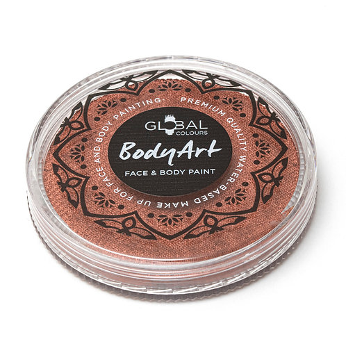 Global Metallic Copper - Face & Body Paint Cake 32g