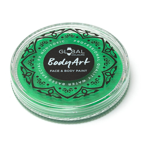 Global Neon Teal - UV Face & Body Paint Cake 32g