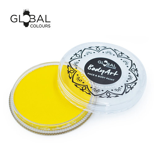 Global Yellow - Face & Body Paint Cake 32g
