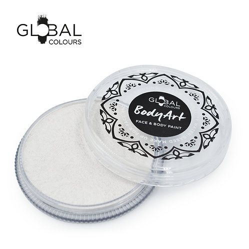 Global Pearl White - Face & Body Paint Cake 32g