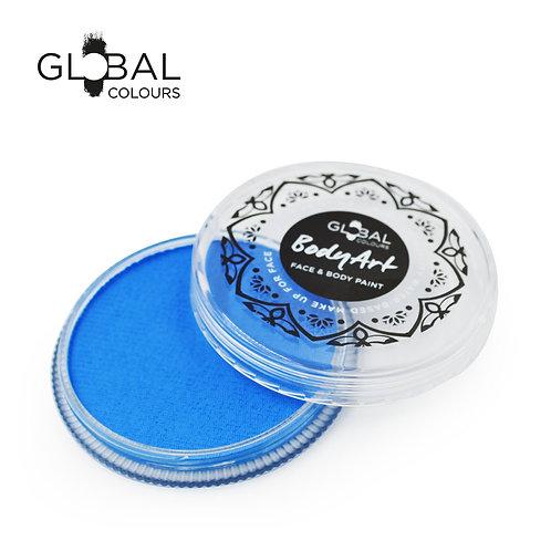 Global Neon Blue - UV Face & Body Paint Cake 32g