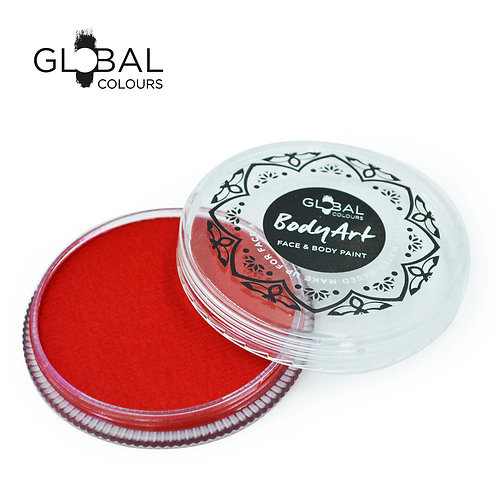 Global Red - Face & Body Paint Cake 32g