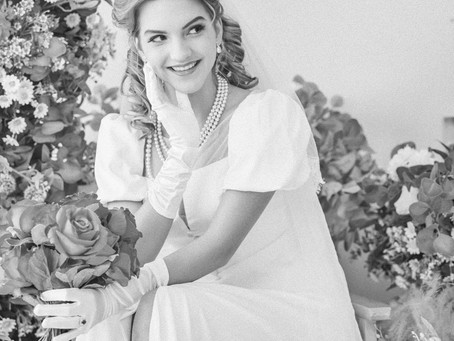 100yrs Bridal Styles - 1940s
