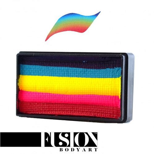 Fusion Body Art One Stroke Leanne's Rainbow Neon fx