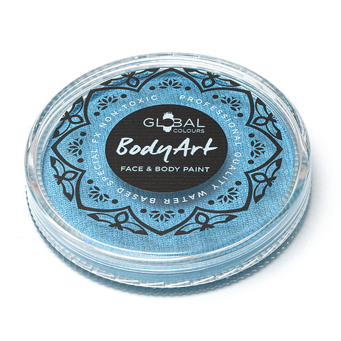 Global Pearl Light Blue - Face & Body Paint Cake 32g