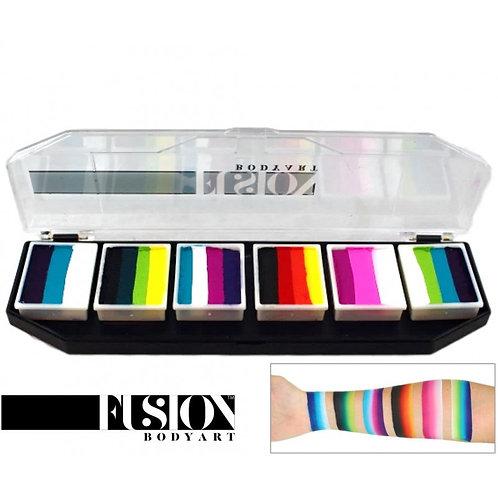 Fusion Body Art Rainbow Burst Palette