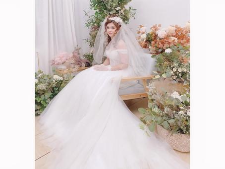 100yrs Bridal Styles - 1990s