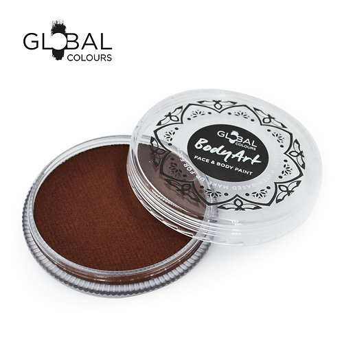 Global Brown - Face & Body Paint Cake 32g (Rose Brown)