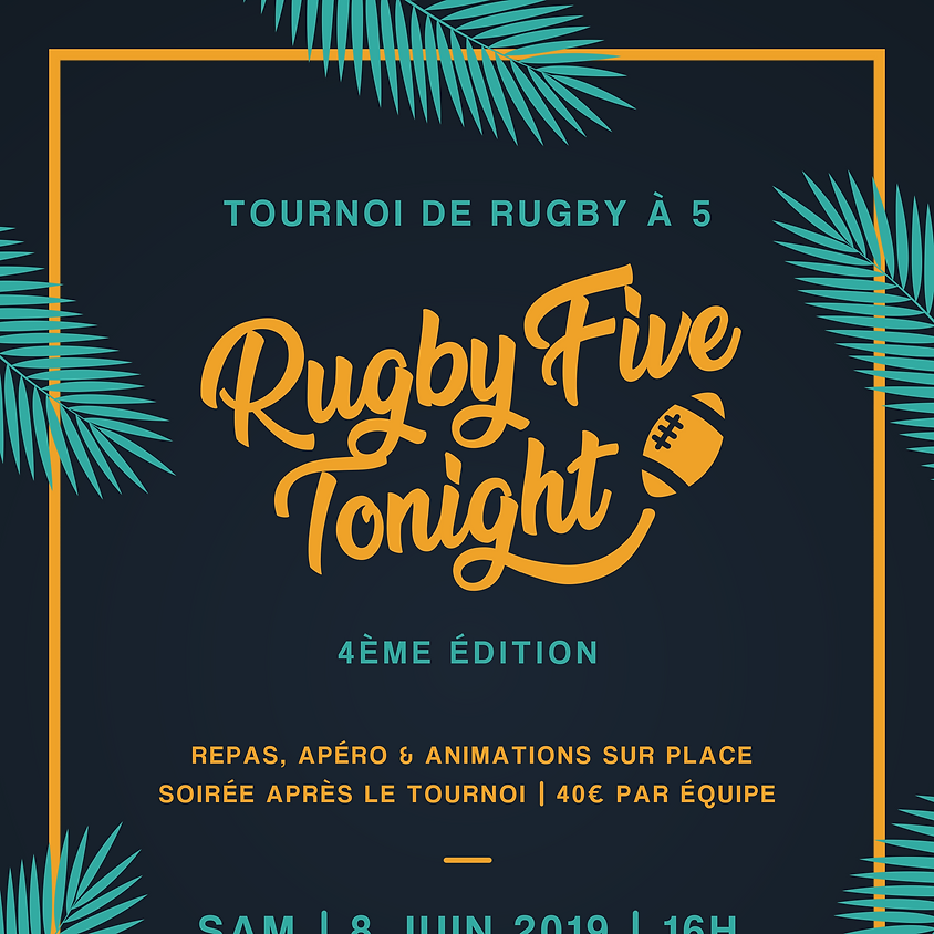 Rugby Five Tonight 2019