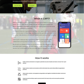 Website Copy for CAPT