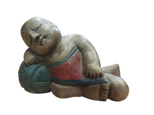 Sleeping Buddhist Antique Figures