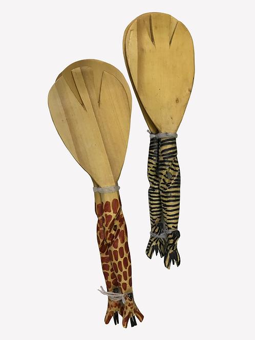 African Wooden Spoon