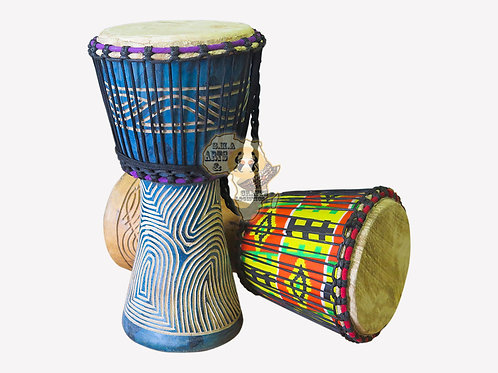 8 Inch Face Djembe Drum