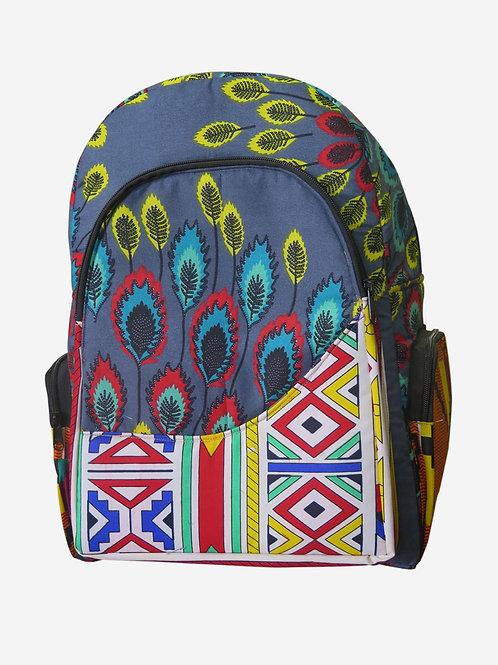 African Backpack Bag