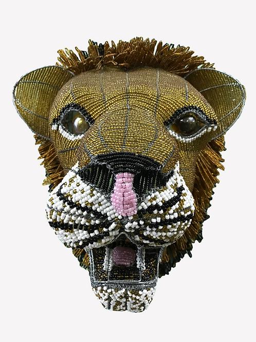 Beaded Lion Head