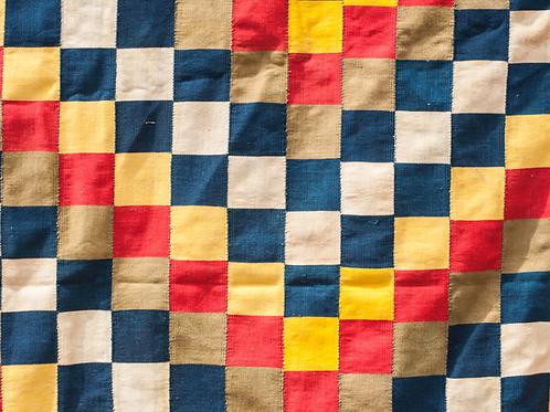 Ghana Ewe Kente Fabric