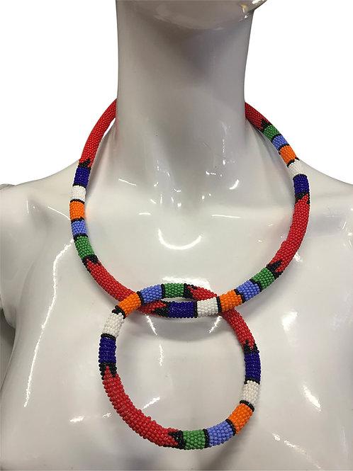 Zulu Necklace Bangle