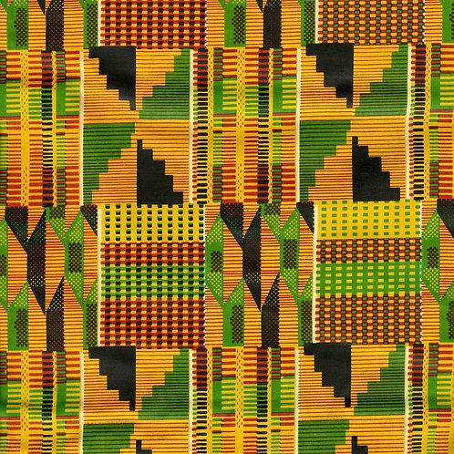 Authentic Ashanti Kente Fabric