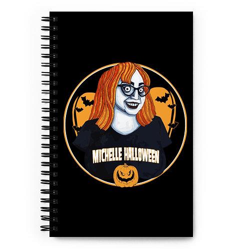 MH Sammy Ruiz - Logo Spiral notebook