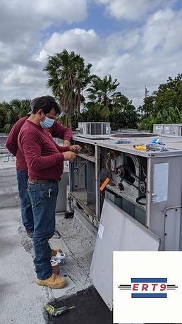 Installing ERT9 RTU Bi Polar Ionization