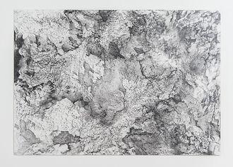 1. Serie ausencia. 70 x 100cm. Grafito s