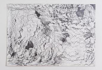 2. Serie ausencia. 70 x 100cm. Grafito s
