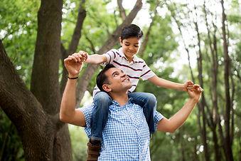 彼の息子と父