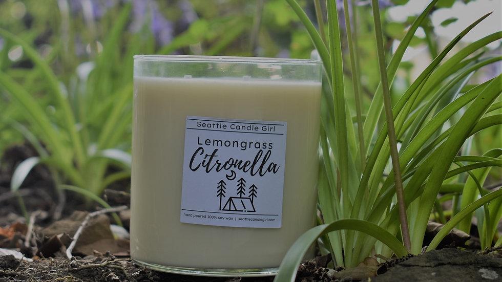 Lemongrass Citronella Soy Candle