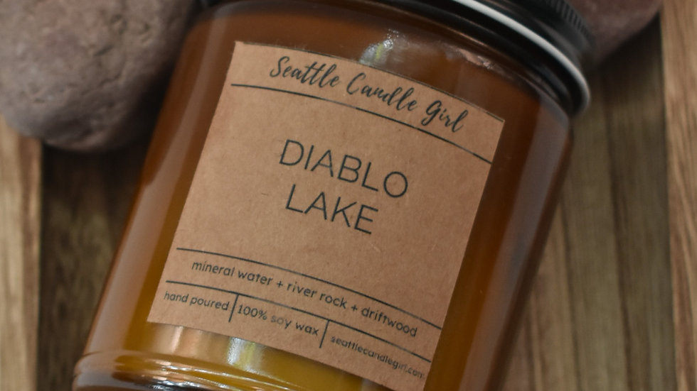 Diablo Lake- Northwest Collection- Soy Candle