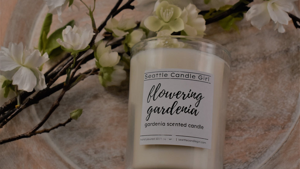 Flowering Gardenia Soy Candle