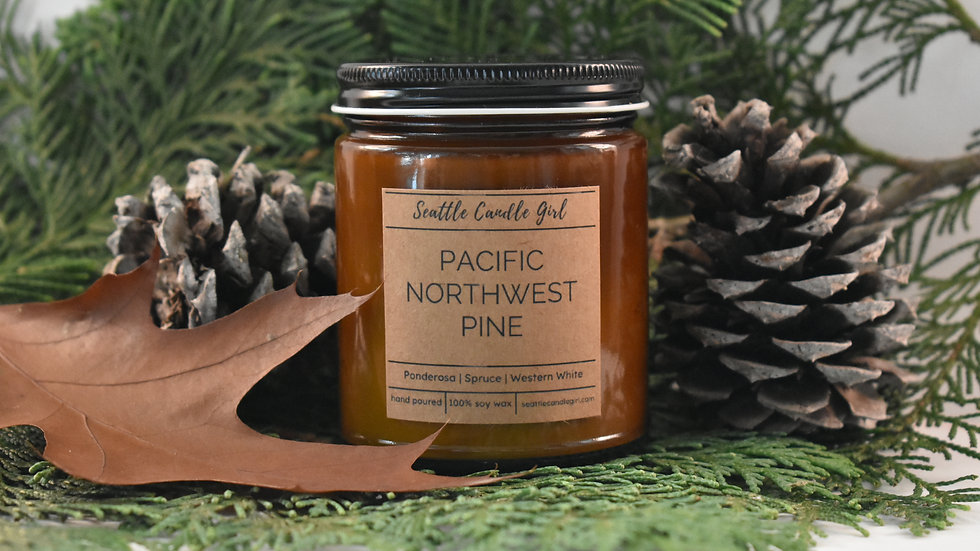 Pacific Northwest Pine- Northwest Collection- Soy Candle