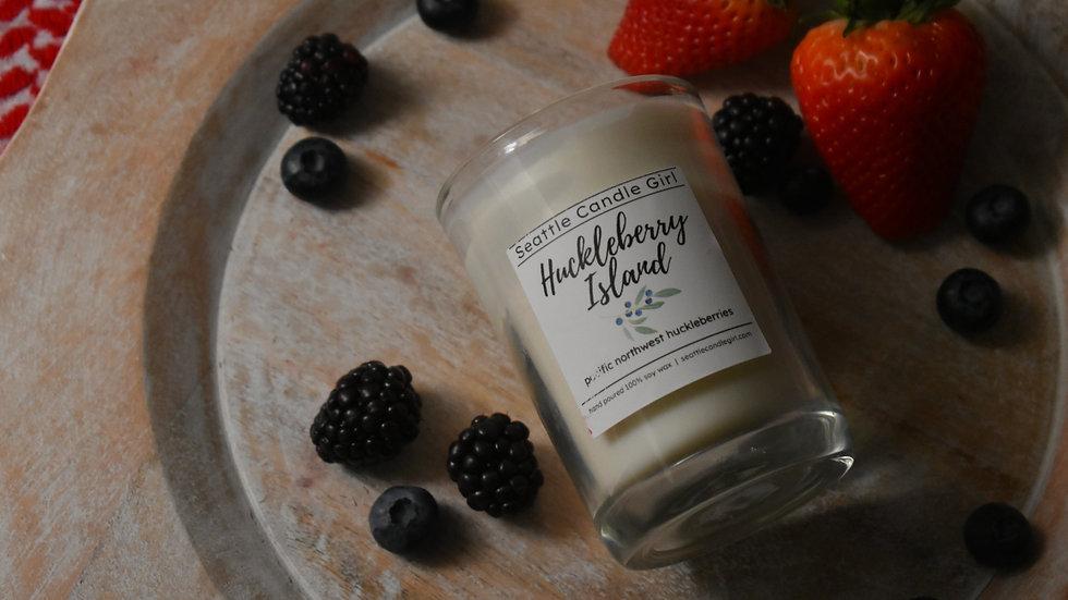 Huckleberry Island Soy Candle