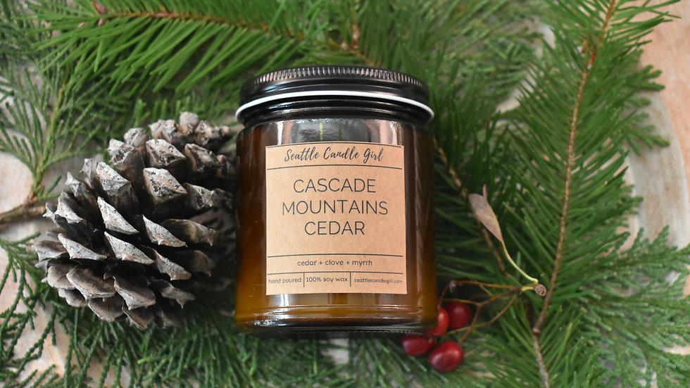 Cascade Mountain Cedar- Northwest Collection Soy Candle