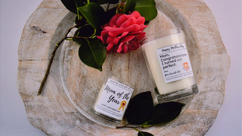 Mother's Day Soy Candles