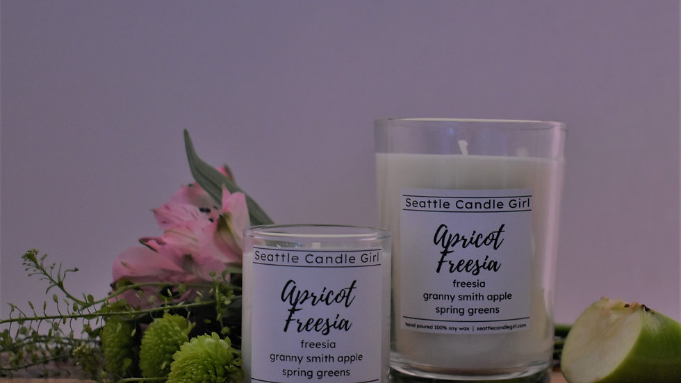 Apricot Freesia Soy Candle