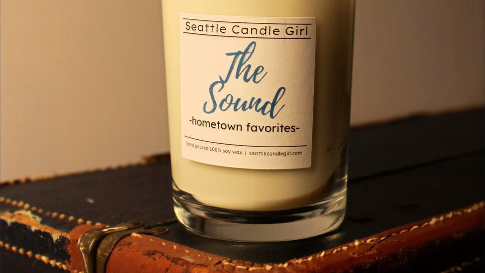 The Sound: Hometown Favorites Soy Candle