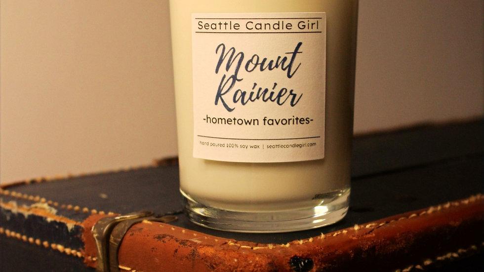 Mount Rainier: Hometown Favorites Soy Candle